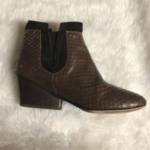 Sesto Meucci ankle booties chestnut-Brown